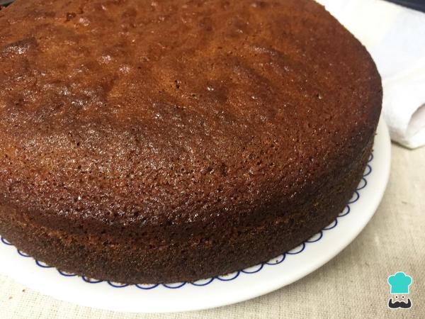 Receta de pastel de caramelo simple y fácil - Paso 10