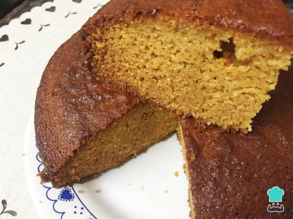Receta de pastel de caramelo simple y fácil