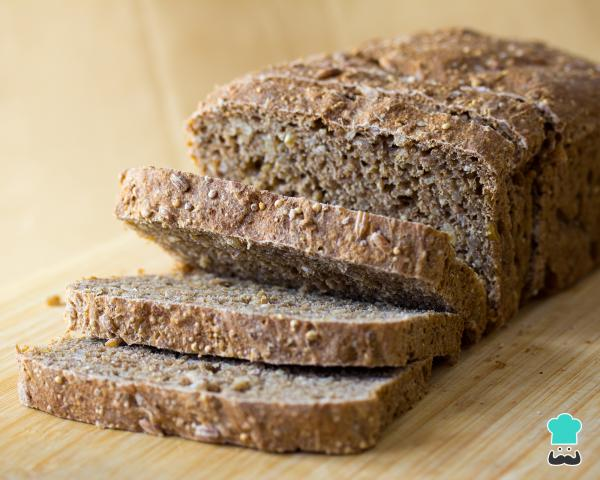 Receta de pan de harina de soja