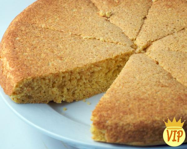 Receta de pastel de maíz verde dietético