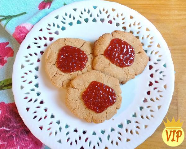 Receta de galleta de maní baja en carbohidratos