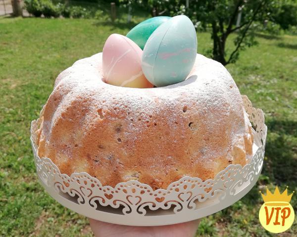 Receta simple de pastel de Pascua
