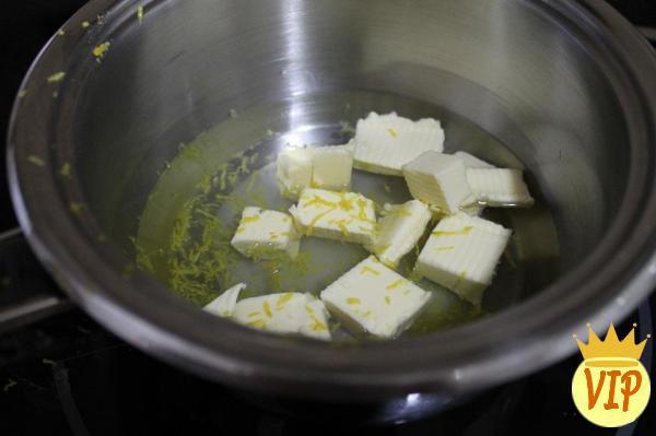 Receta para Raincake con harina de arroz y maicena - Paso 1