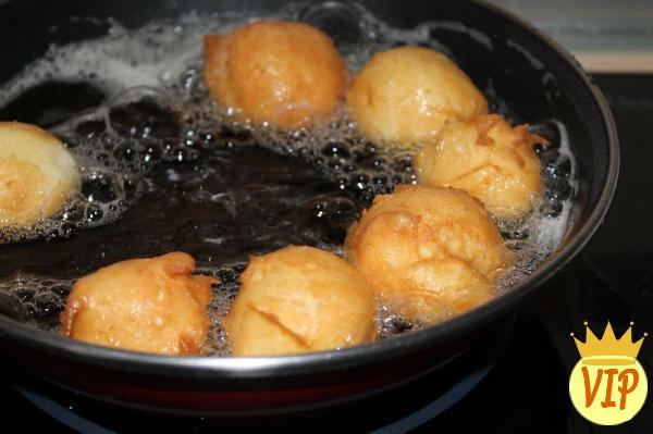 Receta para la bola de masa de lluvia con harina de arroz y maicena - Paso 4