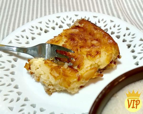 Receta para pastel de tapioca granulada al horno